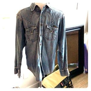 Vintage Lucky Brand Denim shirt